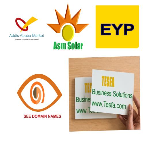 affordable Logo Design by Tesfa tesfa.com